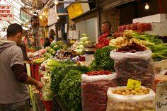 Open Market in Jerusalem