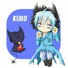 Kuro is so cute Chibi Boy, Kawaii Chibi, Servamp Anime, Anime Art, Neko, Sleepy Ash, Animé Fan Art, Special Images, Cute Anime Guys
