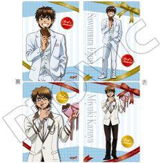 Plastic Folder - Ace of Diamond / Miyuki Kazuya & Sawamura Eijun (ダイヤのA クリアファイルセット/H 沢村&御幸) | Buy from Otaku Republic