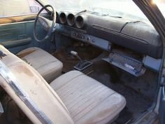 1968 ford ranchero front seat and dash