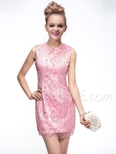 Dresses, Fabulous ShortCocktailMini Beading  Scoop Neckline  Cocktail  Dress, Dresses,350.99