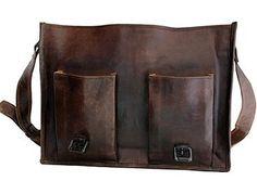 ArtandCraft - Satchel, Leather Laptop Messenger bag, Briefcase, Crossover 16 inch Shoulder Bag 2