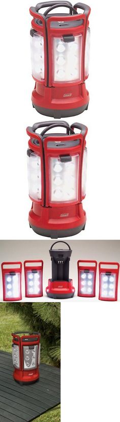 Lanterns 168867: New Coleman Quad Led Lantern Camping Light - Red -> BUY IT NOW ONLY: $50.59 on eBay!