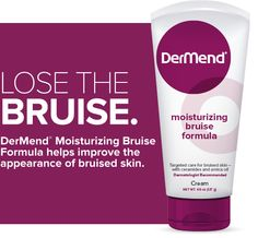 DerMend Bruise Moisturizing Formula - I haven't actually tried this yet, but am intrigued. I have bruises on my shins from Scuba diving in November that haven't gone away yet!