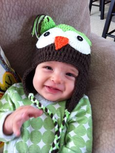 Cute baby boy hat!