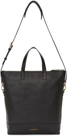 Burberry: Black Armley Tote Bag