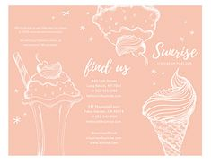 Using a trifold brochure is an easy way to promote your business. Here's how you can tell your brand story in a trifold brochure that drives impact. Ice Cream Poster, Brand Story, Promote Your Business, Sunrise, Learning, Brochures, Business Design, Photography Ideas, Behance
