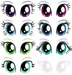 Best how to draw a horse face deviantart Ideas My Little Pony Birthday, My Little Pony Party, Unicorn Eyes, Doll Face Paint, Flower Pot People, Face Template, Eye Stickers, Cartoon Eyes, Imagenes My Little Pony