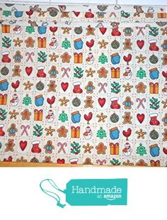 Gingerbread Goodies Reversible Placemats, Set of 4 from ColdStreamCrafts http://www.amazon.com/dp/B017GCX45C/ref=hnd_sw_r_pi_dp_lNLnwb127TQEC #handmadeatamazon