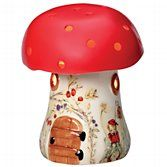 Toadstool lamp from John Lewis