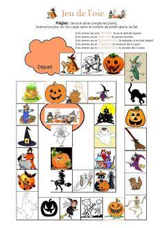 Jeu d'Halloween de l'oie zombie - Lune, 'Soun et Lylou