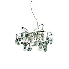 Eurofase Nimah Collection 12-Light 136-1/2 in. Hanging Chrome Chandelier-16479-012 at The Home Depot $970