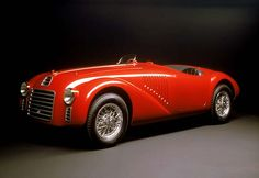Ferrari 125 - The 1st ever Ferarri