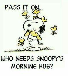 morning hug