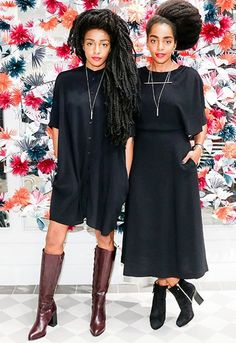TK Wonder and Cipriana Quann style interview asos. Natural beauty