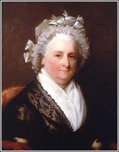 Martha Washington, America's first First Lady