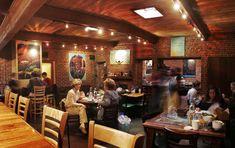 The Book'Em Cafe where Blaine and Maxie dine (good fish tacos and pomegranate lemonade)
