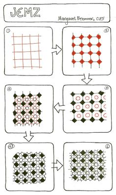 Enthusiastic Artist: JEMZ - a new tangle