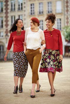 Wax Touch Collection Maison Mixmelô FW 18 #fashion #frenchstyle #waxprint #womensfashion #mixandmatch #slowfashion #ethicalfashion #africanfashion Inspiration Mode, Wax, Code Promo, Stylish, Interview, Dressing, Touch, Vintage, Instagram