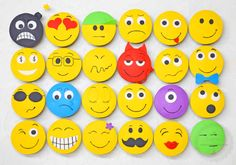 Emoticons What a great idea for fun cookies.