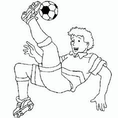 ausmalbilder kostenlos fußball spieler 01