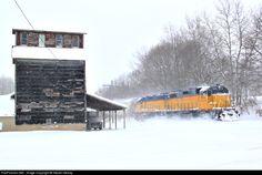 RailPictures.Net Photo: MQT 2008 Marquette Rail EMD GP38-2 at Custer, Michigan by Steven Mckay