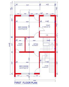 30x40 2 bedroom house plans | plans for east facing plot ...