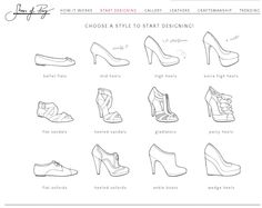 """Shoes of Prey is a fantastic platform where you can design your own pair of shoes and they will send it at home. Check it on the """"shoes of prey"""" website!"""