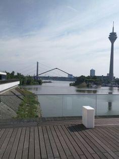 Hotel view, Dusseldorf Germany