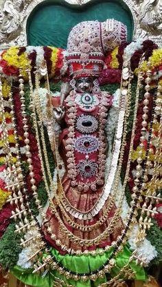 Meenakshi during Meenakshi-Sundareshwara Tirukalyanam in Nithyananda Dhyanapeetam Bidadi...