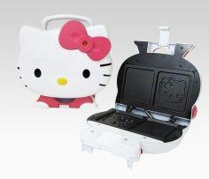 Hello Kitty Sandwich Maker - yum! hello-kitty-home