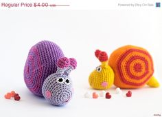 amigurumi patterns in a very special price no more than 2 per pattern