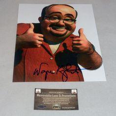 Wayne Knight TOY STORY Autograph 8x10 COA Memorabilia Lane & Promotions