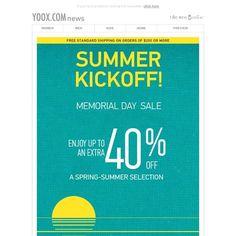 YOOX - Summer Kickoff Sale: 40% Off Early Start