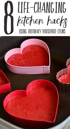 8 Life-Changing Kitchen Hacks that will transform how you use your household items, when you think outside the box.: 8 Life-Changing Kitchen Hacks that will transform how you use your household items, when you think outside the box. Sage Green Kitchen, Red Velvet Pancakes, Kitchen Hacks, Kitchen Ideas, Kitchen Things, Kitchen Stuff, Easy Cooking, Cooking Hacks, Kitchen Tops