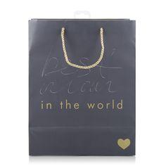 Best Mom Foil Gift Bag