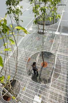 kientruc o remodels traditional 70 year old vietnamese villa using spatial voids #landscapearchitecturepark