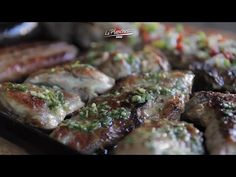 Plancheteada criolla Steak, Pork, Cooking, Recipes, Yummy Yummy, Youtube, Plate, Cook, Planks