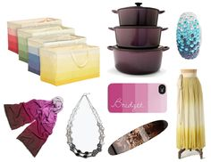 W-G Gift Guide: Ombre October - gradient gifts for your bride-to-be