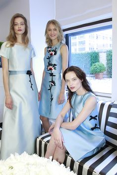 Carolina Herrera Resort 2016 [Photo: Thomas Iannaccone]