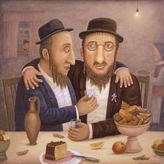 Весёлого Пурима! Хаг самэах Пурим!: laura_mz — ЖЖ Jewish History, Jewish Art, Arte Judaica, Vladimir Kush, Art Brut, Russian Art, Judaism, Photo Art, Art Gallery