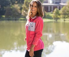 Fall in love with our FieldTec™ Dune 1/4 Zip Fleece Pullover - Seersucker. #SouthernMarsh #love
