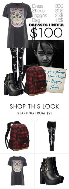 """""""Dress under 100$"""" by stream5 ❤ liked on Polyvore featuring JEFFRIES, Eastsport and And Finally"""
