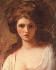 have always loved this portrait of emma hamilton