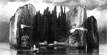 L'isola dei morti (dipinto) - Arnold Bocklin - Quarta versione