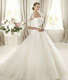 Brautkleid von Pronovias - Ein Traum in Weiß: Die schoensten Brautkleider