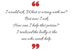 Redhead Quote on Bullying   How to be a Redhead