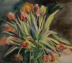 Tulips 2014 52x59cm