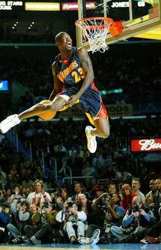 Jason Richardson for the under-the-leg slam dunk.