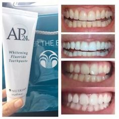 100% Genuine Nu Skin AP-24 Whitening Fluoride Toothpaste No Peroxide UK Stock 706611823686 | eBay